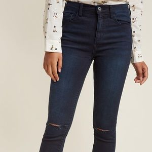 "ModCloth ""Ain't A Frayed of Nothin'"" skinny jeans"